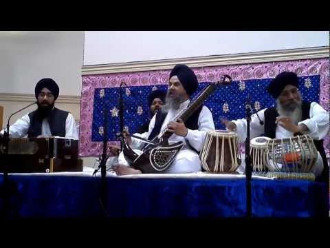 Dr. Gurnam Singh Jee - Central NJ - Raag Kaanra Bhaj Ramo Man...