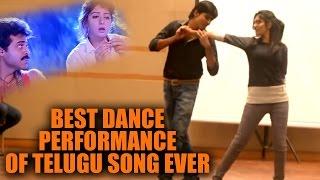 OMG!! Best Dance Performance For A Telugu Song From Kshana Kshanam
