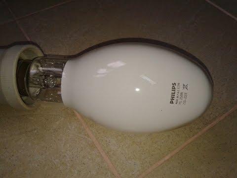 Бактерицидная лампа своими руками