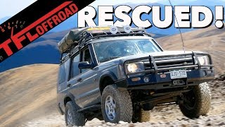 Disco vs Red Cone: Taking a 2004 Land Rover Discovery To The Limit Off-Road!