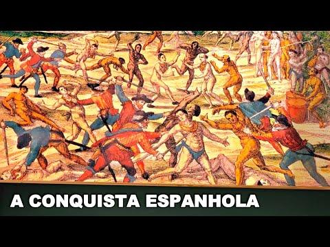 A chegada dos espanhóis à América insere-se no contexto da expansão marítima europeia. A colonização levou a Espanha a fazer incursões no novo continente, do...