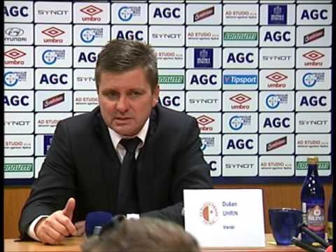 Tisková konference hostujícího týmu po zápase se Slavia (1.11.2015)