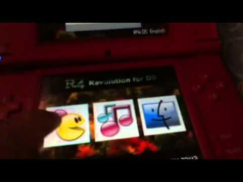 Problema con tarjeta r4 Nintendo DSi xl