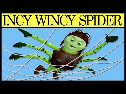 Incy Wincy Spider - English Nursery Rhymes For Children, Kids And Babies video