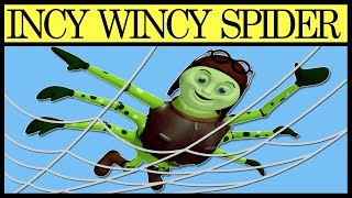 Incy Wincy Spider - Nursery Rhymes Songs With Lyrics And Action