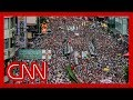 Organizers say over one million marched in Hong Kong thumbnail