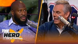 Don't see a problem with OBJ demanding a trade, Baker has regressed —James Harrison | NFL | THE HERD