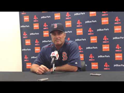 John Farrell happy with Justin Masterson, Mike Napoli HR