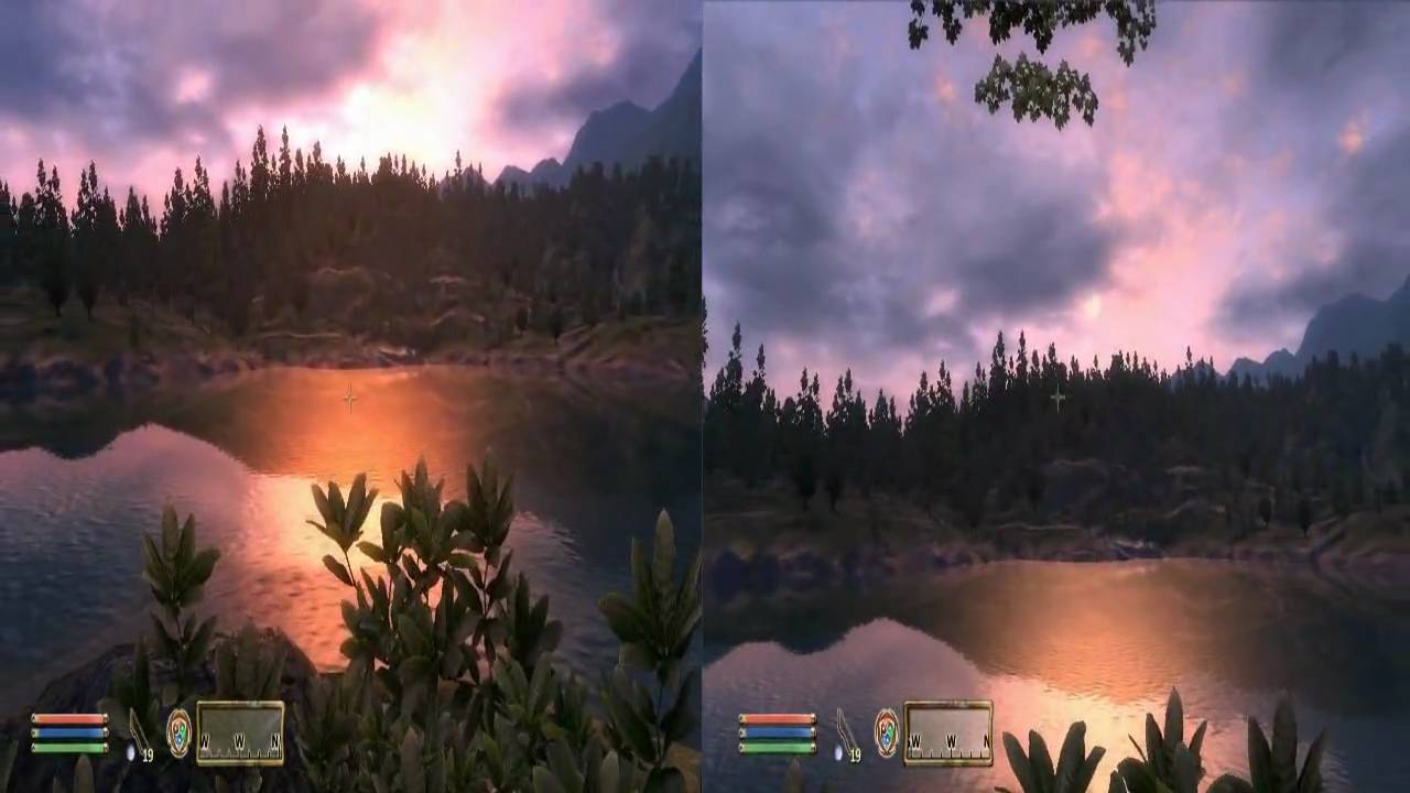 how to make oblivion fit your screen