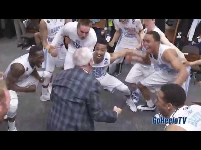 UNC Men's Basketball: Post Arkansas NCAAT Celebration - Sweet Sixteen Bound