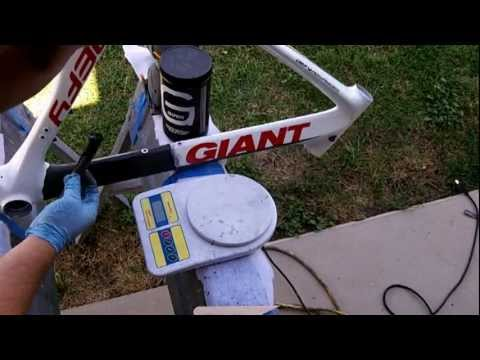 Carbon Fiber Bike Repair- Video Tutorial 1 of 2