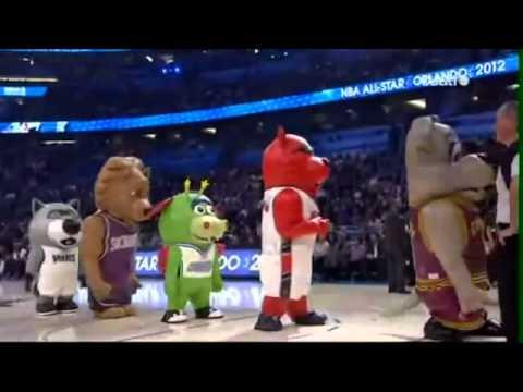 Mascotas Graciosas 2013  Mascotas Graciosas 2013 Mascotas de la NBA impresionantes!