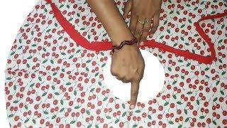 सिर्फ 10 Minit मे बनाये Umbrella cut Baby Top Very easy way // by simple cutting