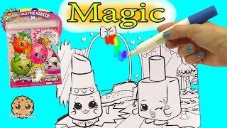 Disney Pixar Finding Dory + Shopkins Imagine Ink Rainbow Color Pen Surprise Pictures