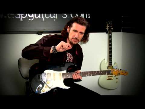 ESP Guitars: Bruce Kulick Guitar Lesson -- Pedals (Part 2/2)