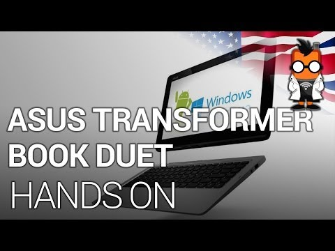 ASUS Transformer Book Duet - Dual Boot Android Windows 2 in 1 - CES 2014
