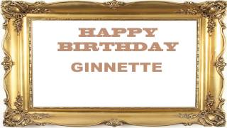 Ginnette   Birthday Postcards & Postales