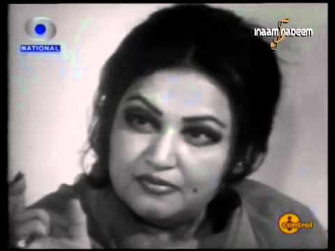 Noor Jehan -- Rare Indian TV Interview (Part 2)