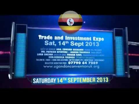Promo: The 3rd Ugandan UK Trade and Investment Forum in London: 'Ugandan UK Convention'