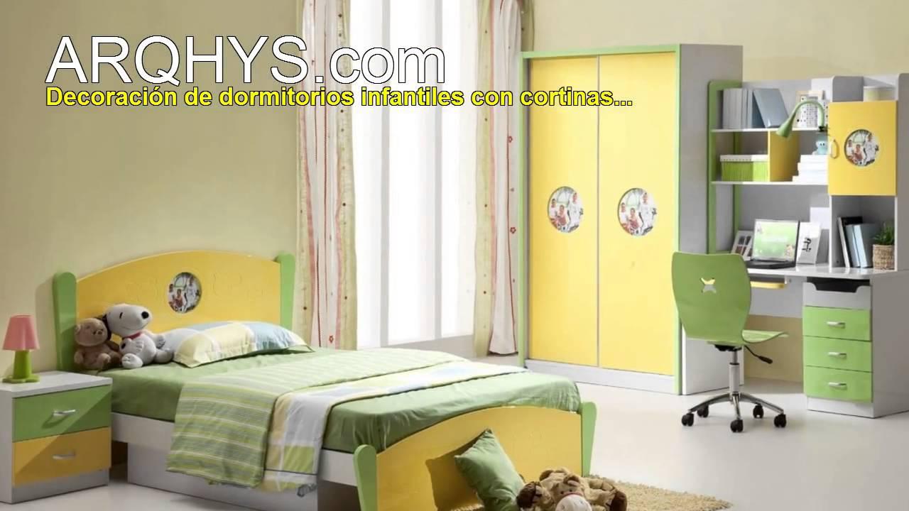 Ideas para implementar mejor las cortinas en el dormitorio youtube - Modelos de cortinas para habitaciones ...