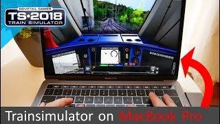 Trainsimulator 2018 on Apple MacBook Pro⎪NO FAKE!!!
