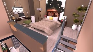 TINY MODERN LOFT | THE SIMS 4 | SPEED BUILD