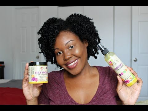 Twist Out Using Alikay Naturals Products | Review & Demo