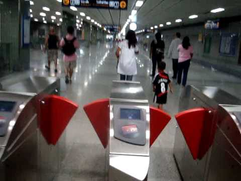 Bangkok Subway Train in Bangkok, Thailand 4