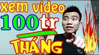 Xem Video Tháng Kiếm 100 Triệu Trên Điện Thoại | Kiếm Tiền Online Trên Điện Thoại