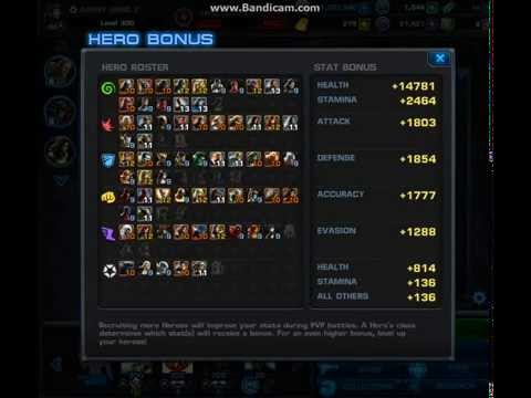Marvel Avengers Alliance: Hero Bonus 11/30/13