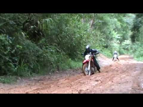 dirt bike test  crf250l VS Klx250   chiangmai thailand by noppaienduro