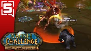 [Strippin] World of Warcraft Classic Beta Amish Challenge - The Wailing Caverns Run