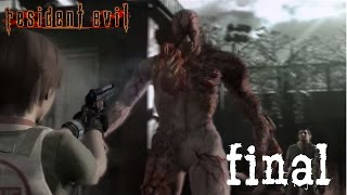 Resident Evil Remake Chris Redfield Walkthrough HD - Part 16 Tyrant FINAL BOSS / ENDING and CREDITS