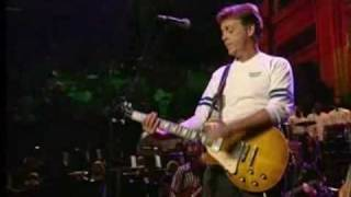Paul Mc Cartney    --  THE END   LIVE