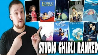 All 22 Studio Ghibli Anime Movies Ranked Worst to Best