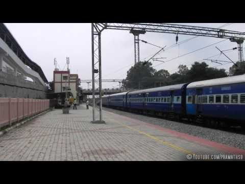 Extreme Acceleration by LGD WAP-7 with Brindavan Express