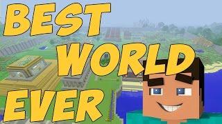 Best Minecraft Survival World (Tour)