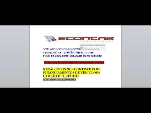 1 REVISIONAL DE VEICULOS E CARTÃO DE CREDITO