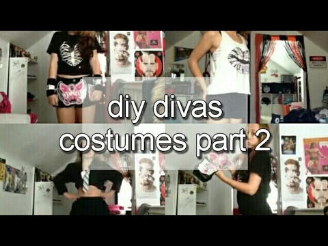 DIY Diva Costumes Part 2...