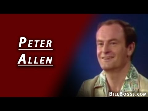 Peter Allen Interview with Bill Boggs