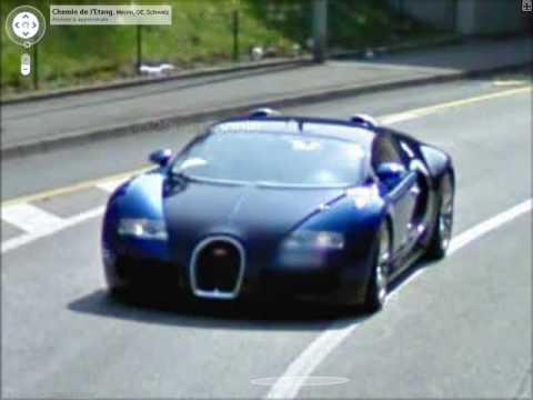 supercars on google earth (addresses on description) youtube