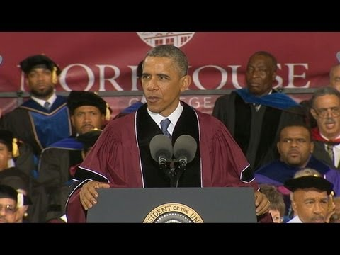 President, First Lady Offer Words of Wisdom to Class of 2013
