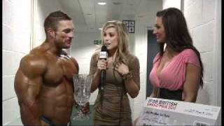 Exclusive backstage interview with Flex Lewis at the British Grand Prix