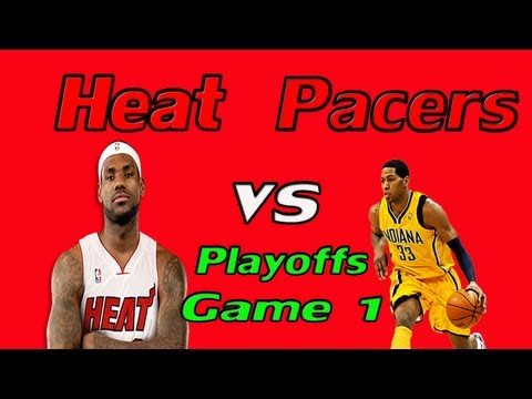 Road To NBA 2K13 - NBA 2K13 My Career - Playoffs - Pacers vs Heat - Playoff Double Double!!