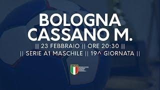 Serie A1M [19^]: Bologna - Cassano Magnago 26-25