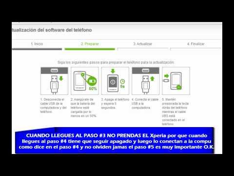 Xperia X10 Mini y Mini Pro Actualización de 1.6 a 2.1