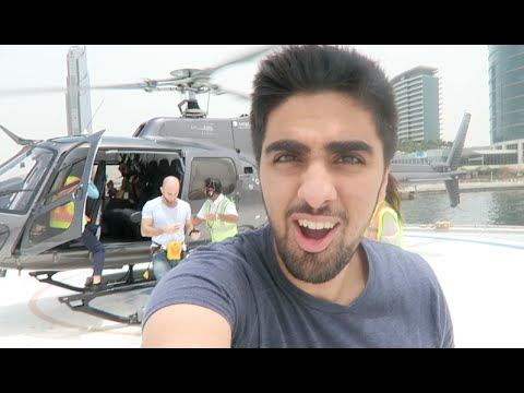 PRIVATE Helicopter Ride in DUBAI !!!