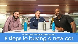 Edmunds' Experts Discuss the 8 Steps to Buying a New Car