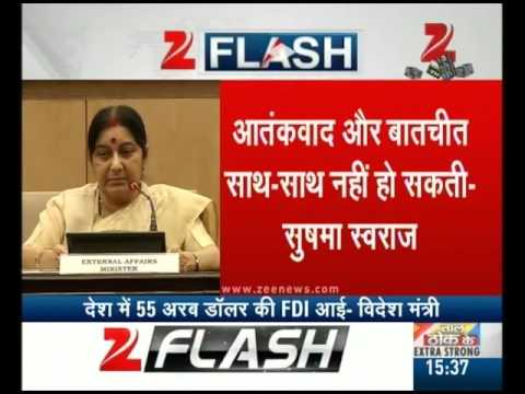 Foreign Minister Sushma Swaraj Press Conference | Part II