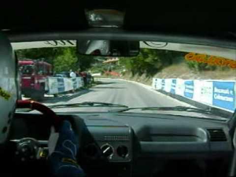 cameracar del pilota trebisaccese nel percorso che da Sarnano porta a Sassotetto.....bellissima gara..peccato per il risultato..la prossima andrà meglio....G...